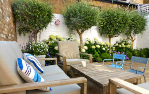 Large Small Courtyard Design In London Hampstead Garden
