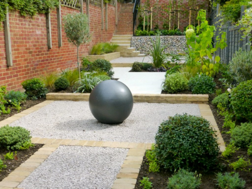 Long Narrow Garden Design Hampstead
