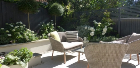 Small Contemporary Garden Makeover Hampstead